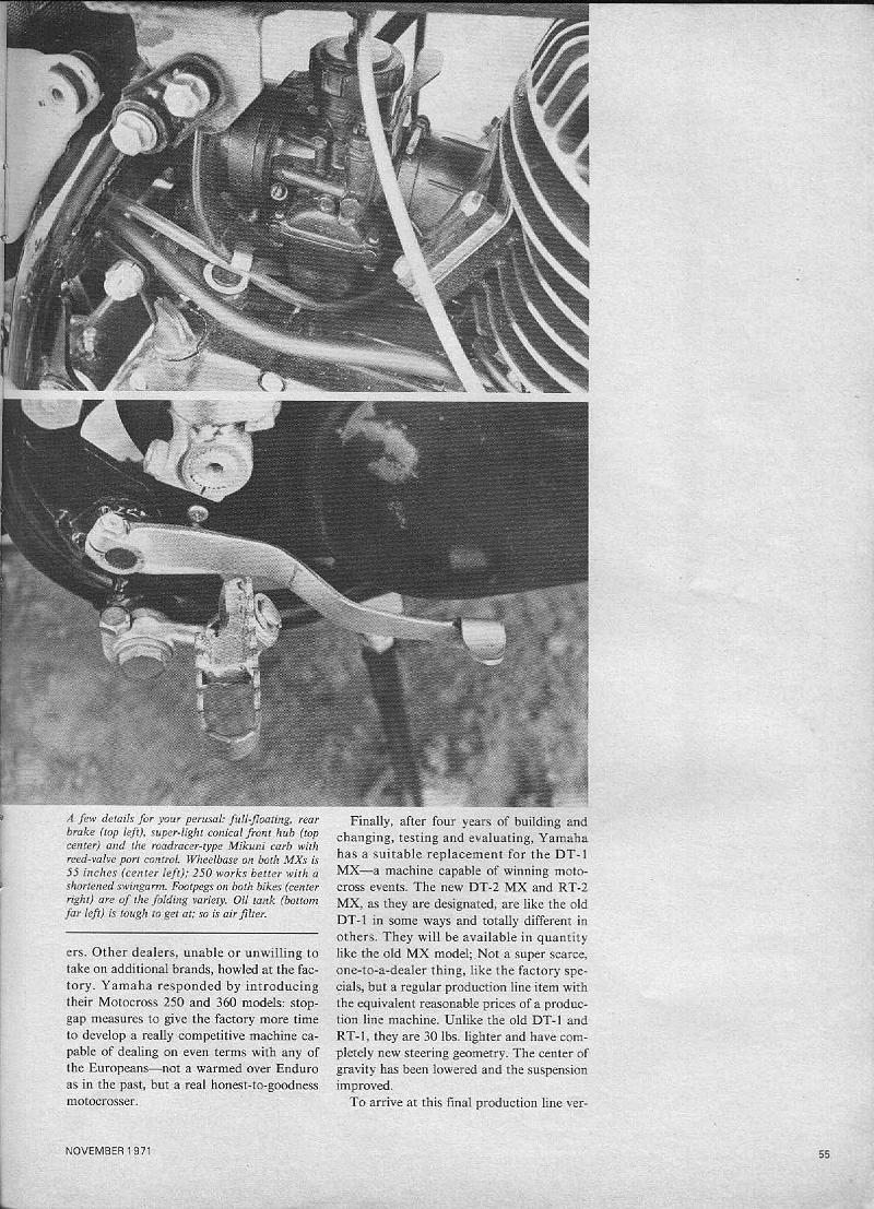 Vintage Yz Info Wiring Schematic Yamaha Yz400 Pg 3